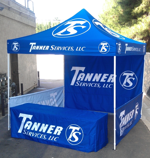 1 Color Custom 10u0027 x 10u0027 Heavy Duty Vendor Tent  sc 1 st  My Business Apparel Custom Apparel Headwear and Promotional ... & VENDOR TENTS : My Business Apparel Custom Apparel Headwear and ...